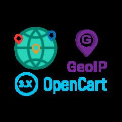 Автовизначення валюти, мови і місця розташування покупця по GeoIp для OpenCart v 3.0