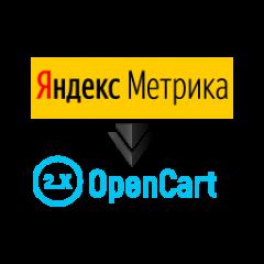 Модуль Яндекс Метрики для OpenCart 2.0-2.3
