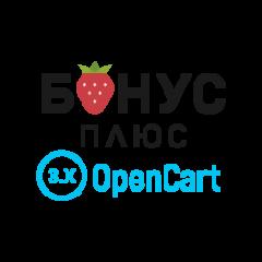 """Программа лояльности от """"Бонус Плюс"""" для OpenCart 3.0"""