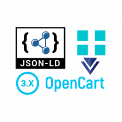 The data markup for OpenCart 3.0 v [open source]