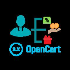 Модуль Бонусы для менеджеров для OpenCart 3.0
