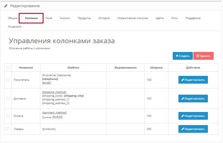 Модуль Менеджер замовлень для інтернет-магазину на ocStore