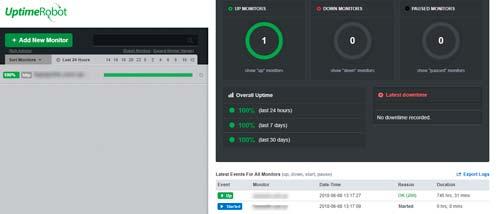 Мониторинг доступности Интернет-магазина