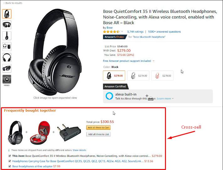 Метод cross-sell в Интернет-магазине на ОпенКарт