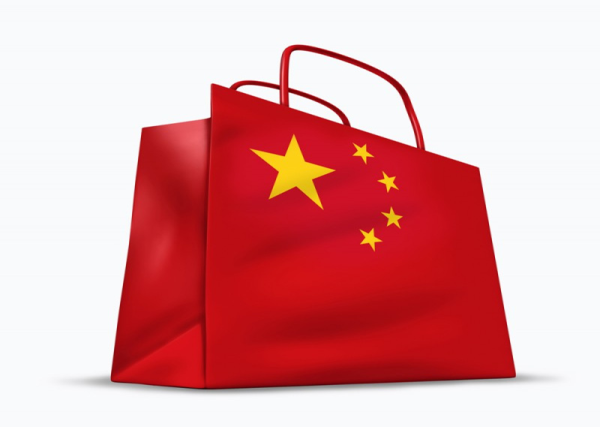 Популярність товарів з Китаю