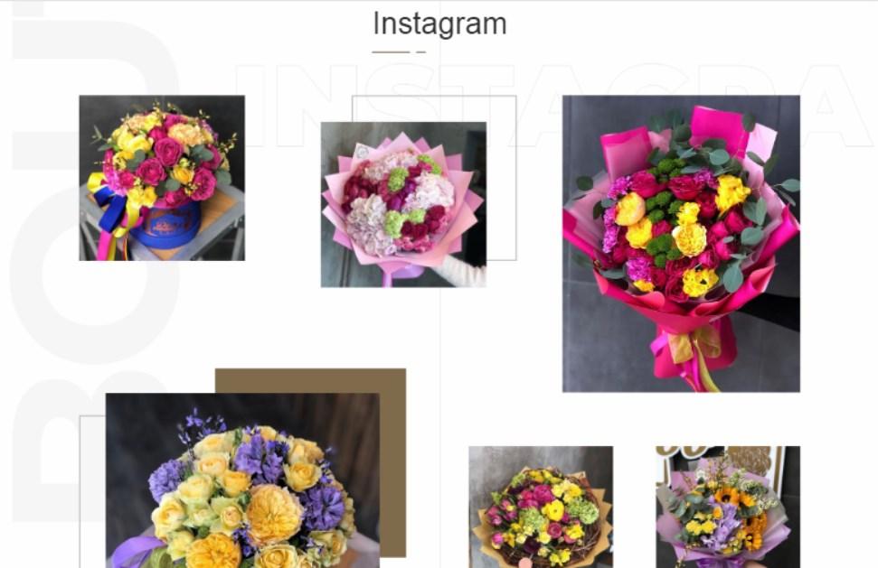 Варіанти нестандартного блоку в Instagram