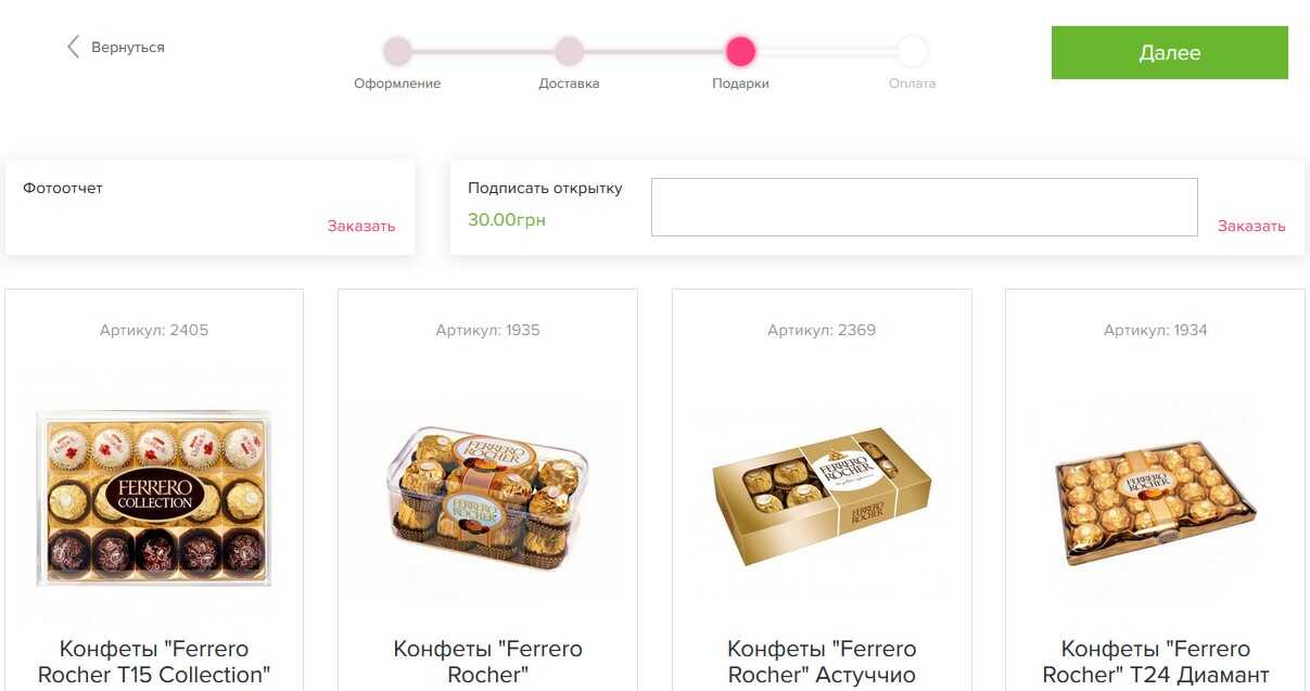 Як цікаво зробити дизайн оформлення замовлення на сайті