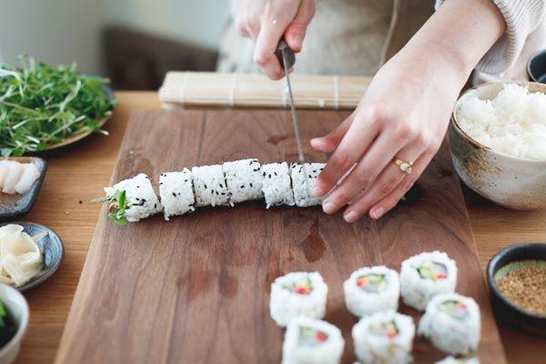 Изготовления суши и роллов на дому